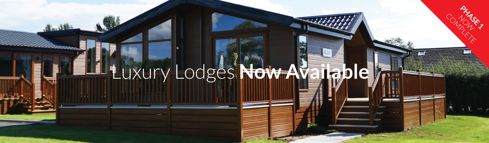 Luxury Lodges from £85,000